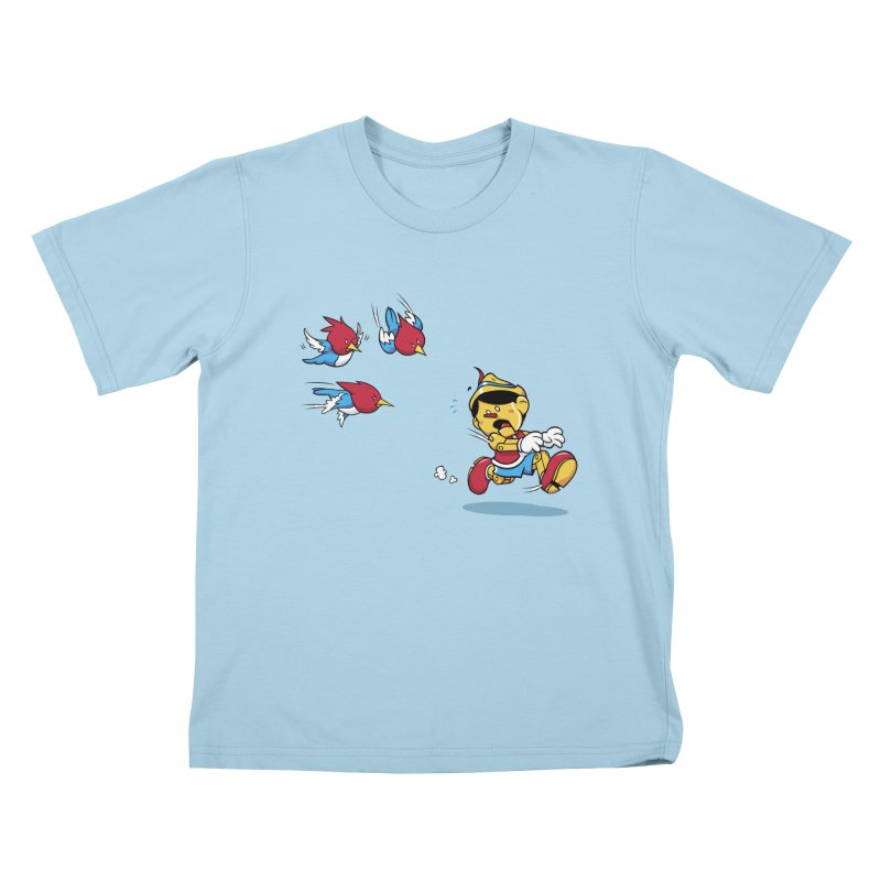Fast Food Kids T-shirt by Rodrigo Habib Artist Shop