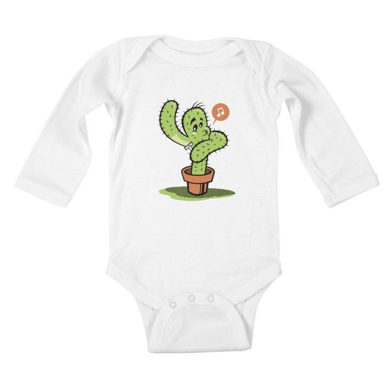 Personal Care Kids Baby Longsleeve Bodysuit by Rodrigo Habib Artist Shop