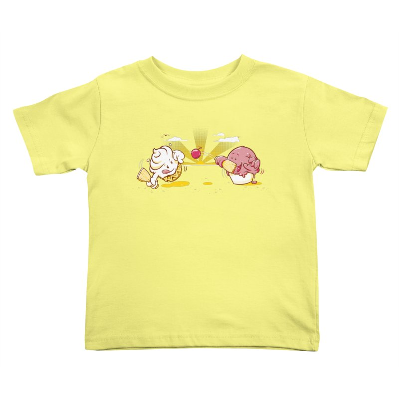 Summer Games Kids Toddler T-Shirt by Rodrigo Habib Artist Shop
