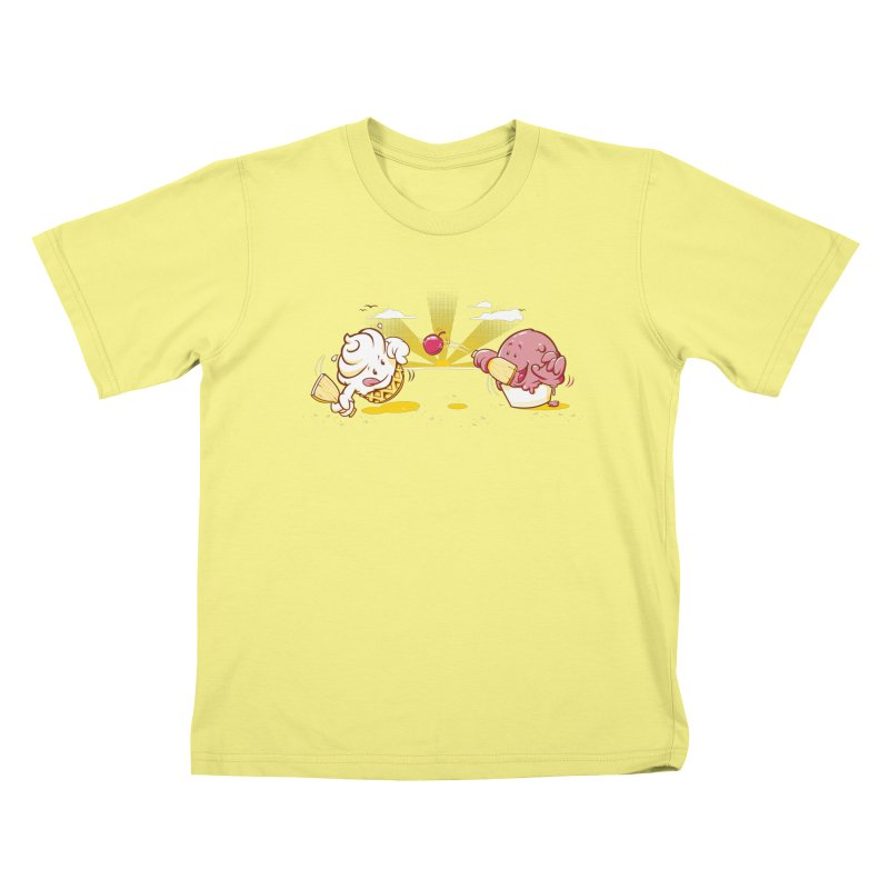 Summer Games Kids T-shirt by Rodrigo Habib Artist Shop