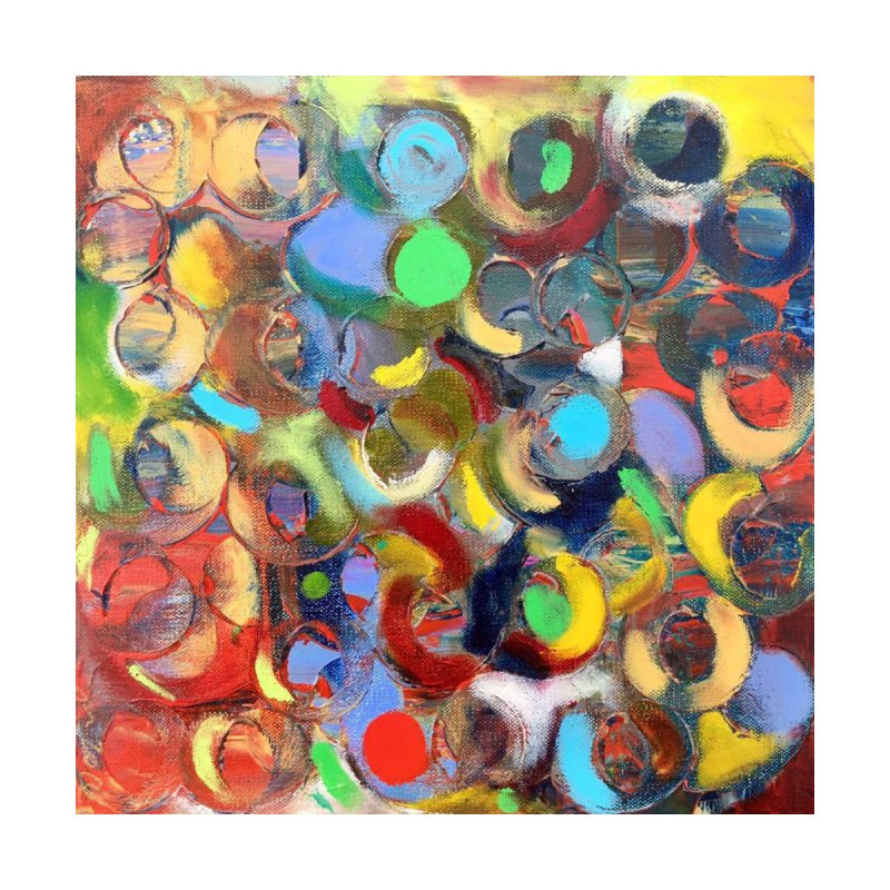 Marbles Home Fine Art Print by Art by Roger Hutchison