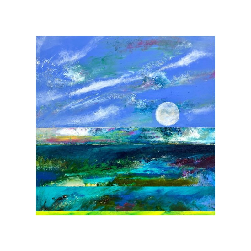 Horizon Home Fine Art Print by Art by Roger Hutchison