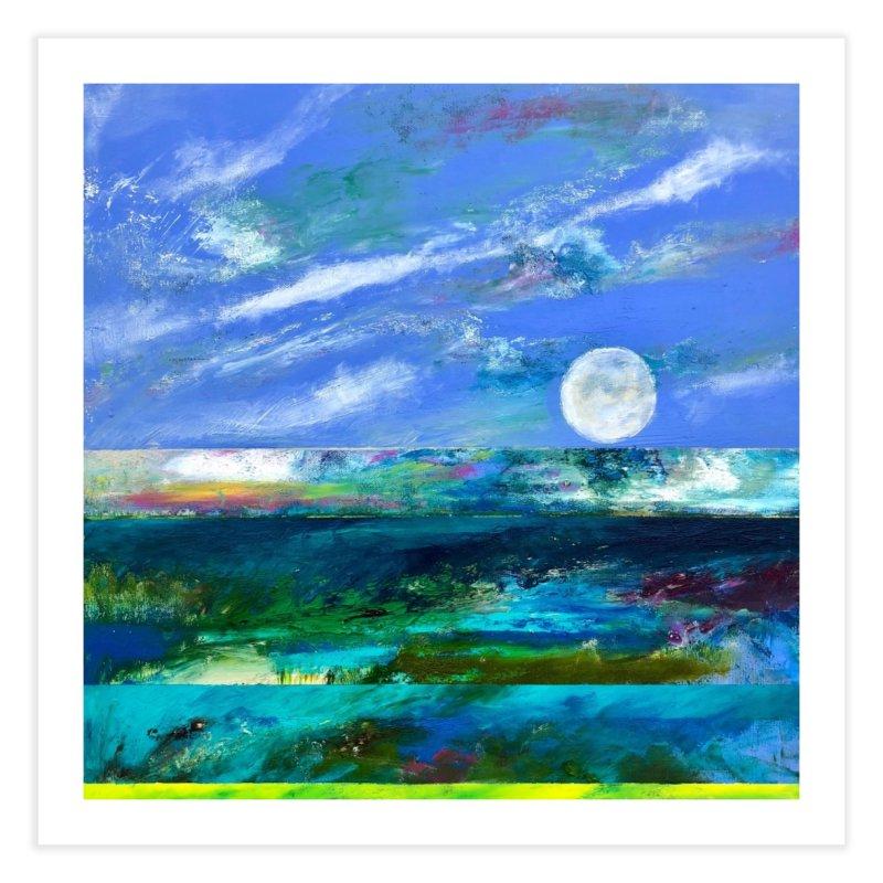 Horizon Home Fine Art Print by Art by Roger Hutchison