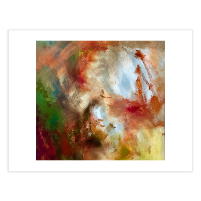 Autumn Home Fine Art Print by Art by Roger Hutchison