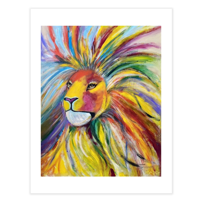 Aslan Home Fine Art Print by Art by Roger Hutchison