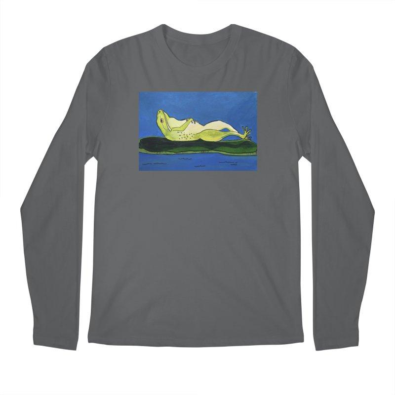 Rest Men's Longsleeve T-Shirt by Art by Roger Hutchison