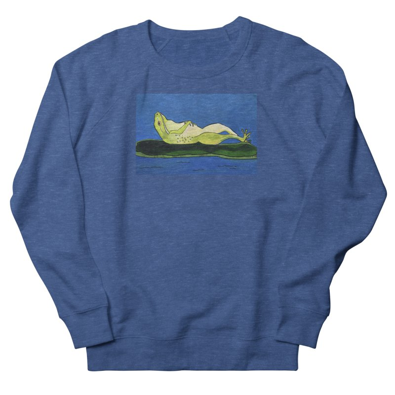 Rest Men's Sweatshirt by Art by Roger Hutchison