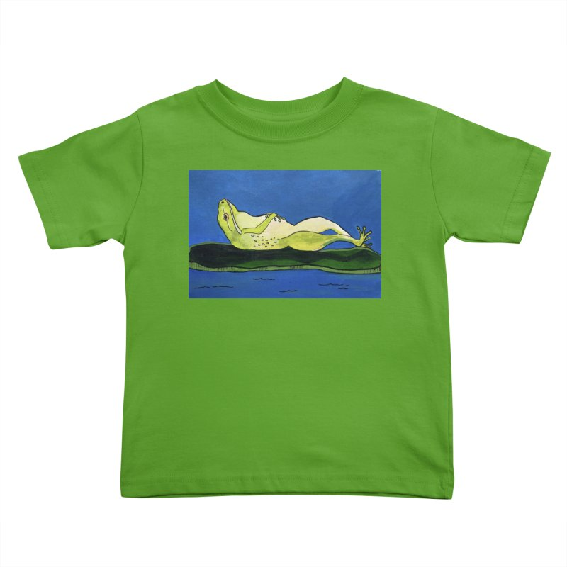 Rest Kids Toddler T-Shirt by Art by Roger Hutchison