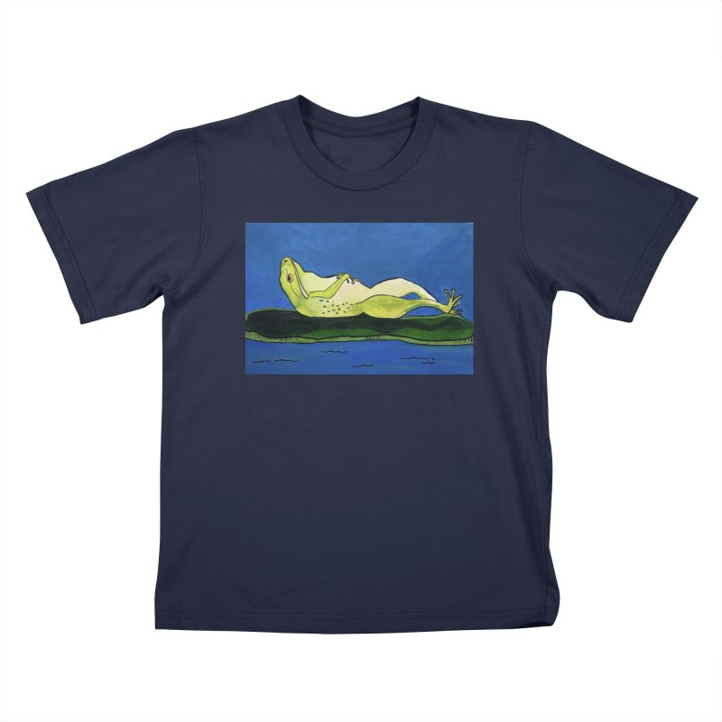 Rest Kids T-Shirt by Art by Roger Hutchison