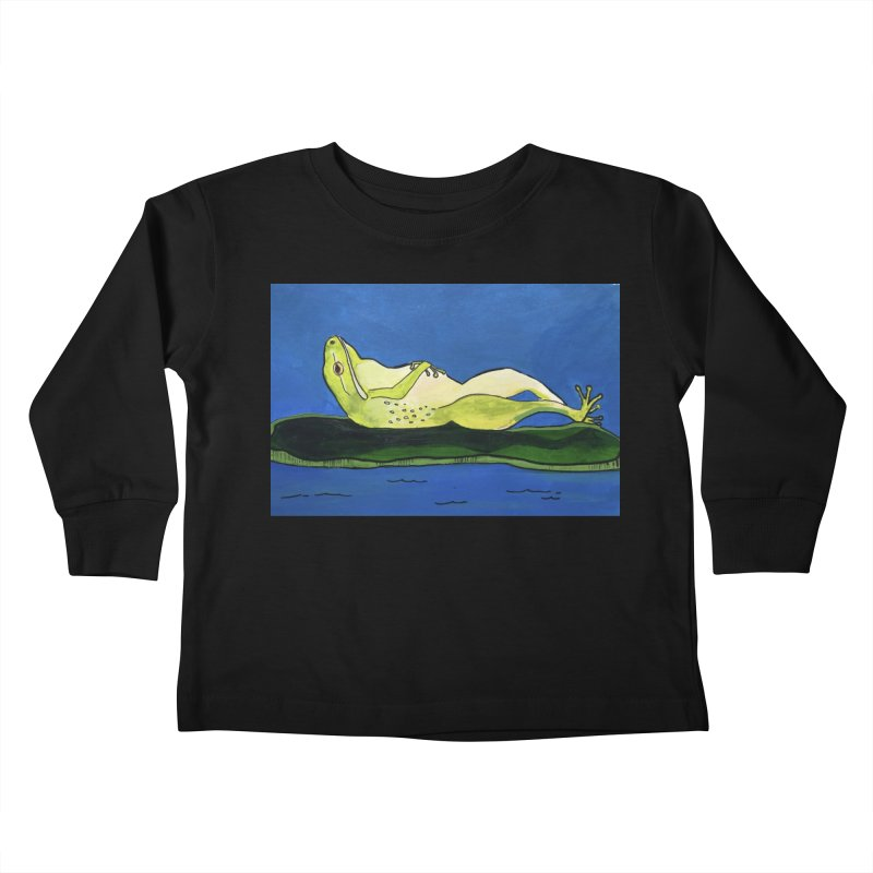 Rest Kids Toddler Longsleeve T-Shirt by Art by Roger Hutchison