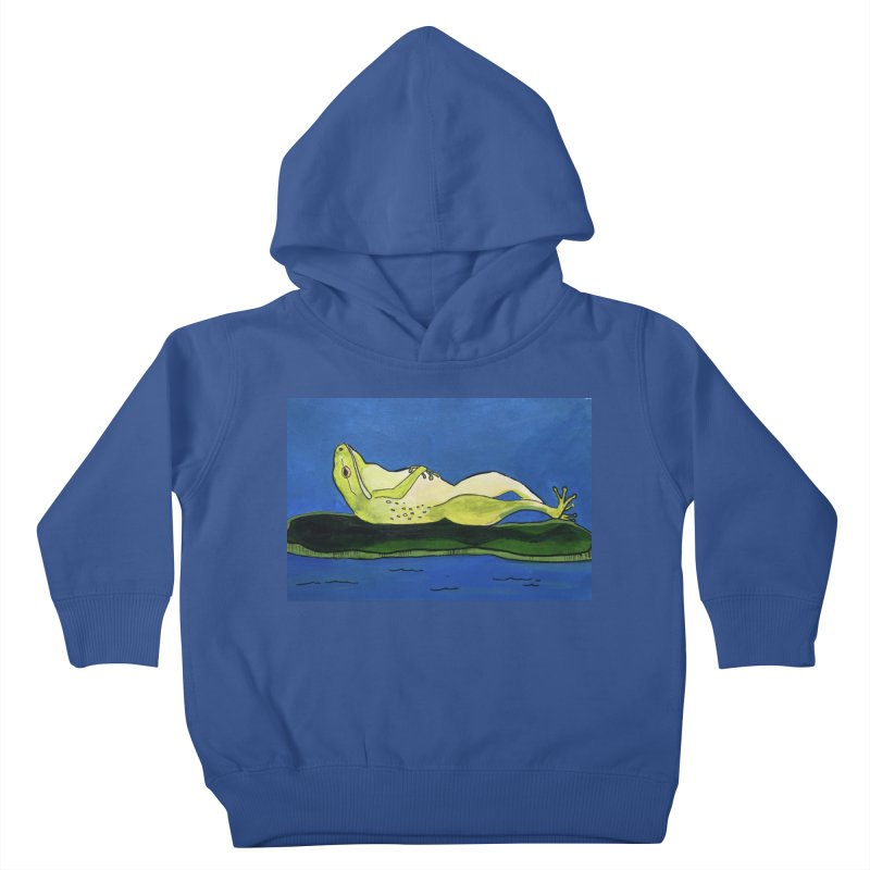 Rest Kids Toddler Pullover Hoody by Art by Roger Hutchison