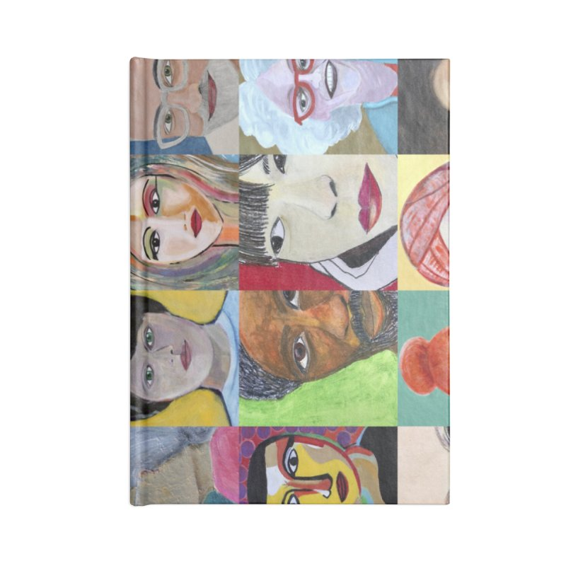 Faces: A Love Story Accessories Notebook by Art by Roger Hutchison