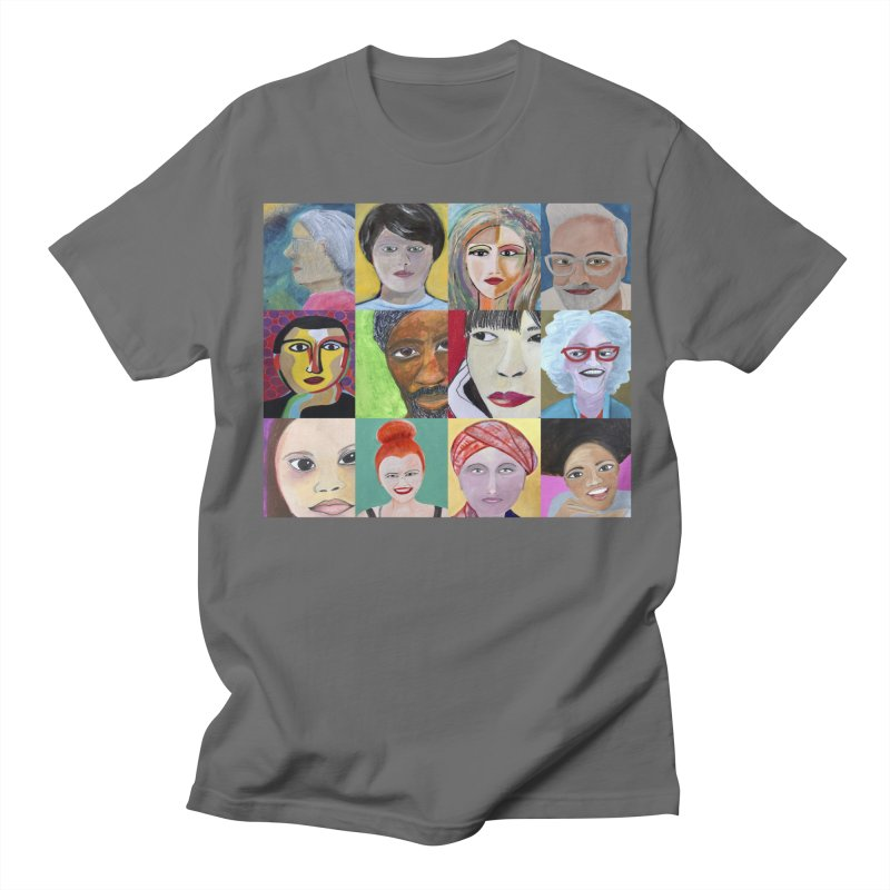 Faces: A Love Story Men's T-Shirt by Art by Roger Hutchison