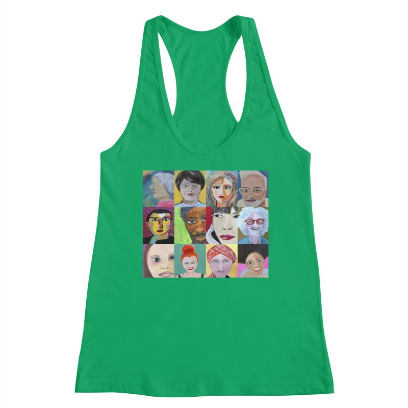 Faces: A Love Story Women's Tank by Art by Roger Hutchison