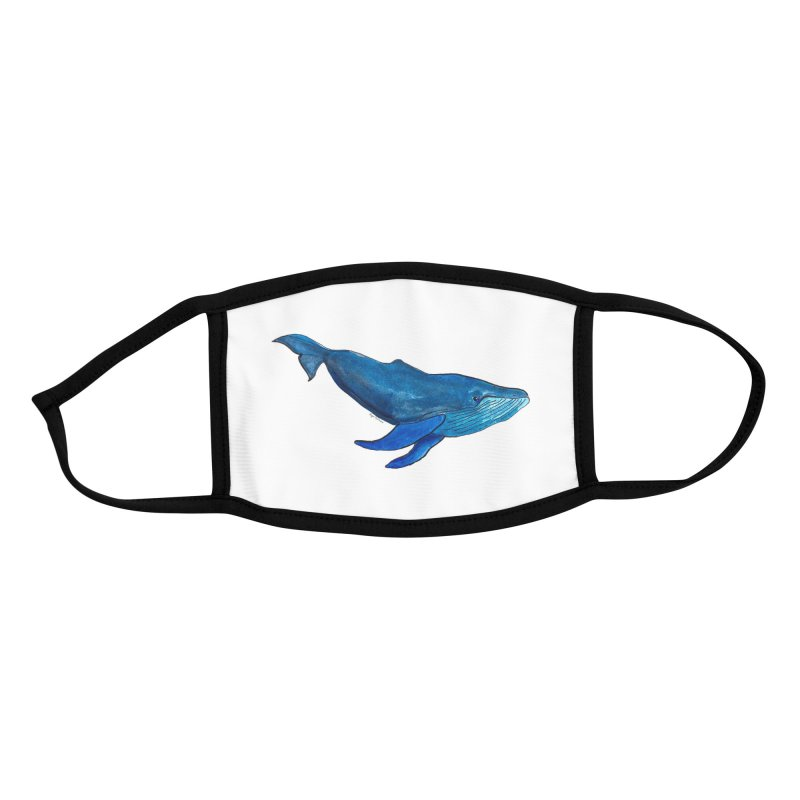 Whale Accessories Face Mask by Art by Roger Hutchison