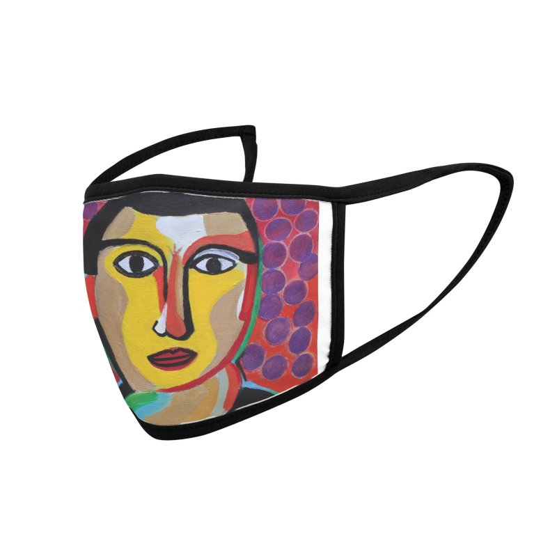 Ponder Accessories Face Mask by Art by Roger Hutchison