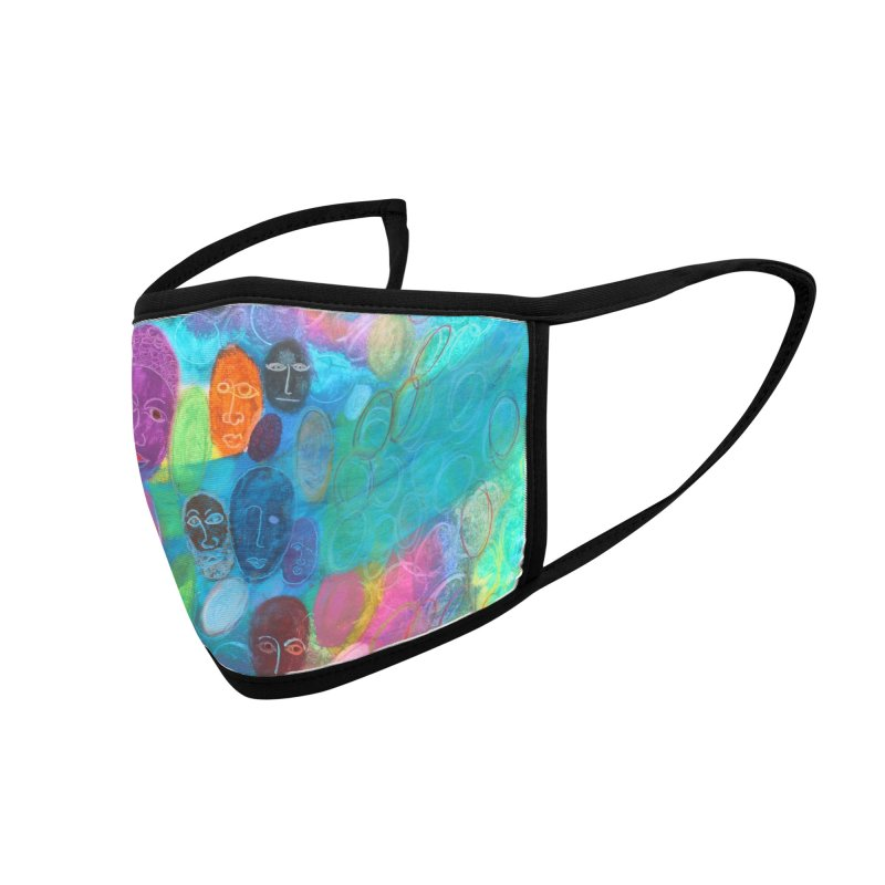 Made in God's Image Accessories Face Mask by Art by Roger Hutchison