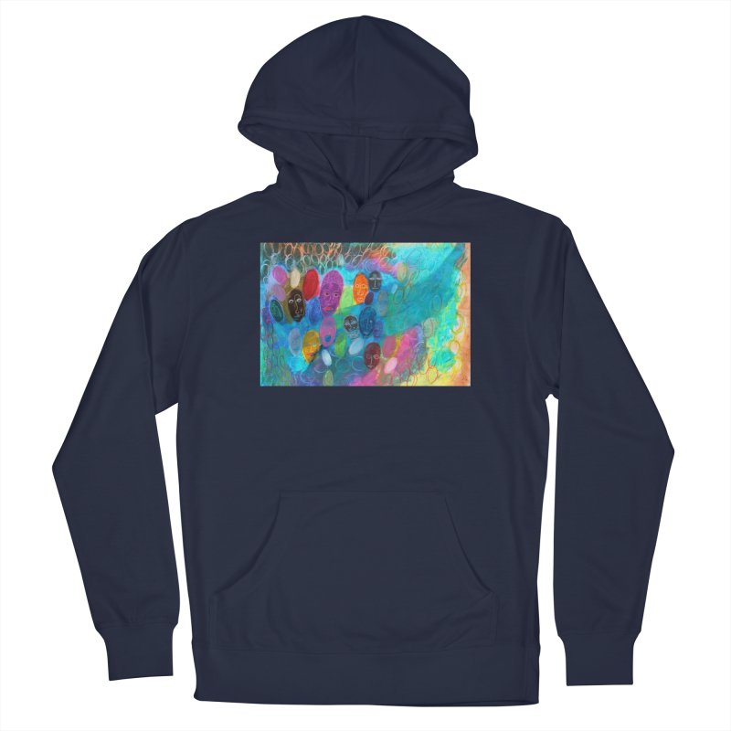 Made in God's Image Men's Pullover Hoody by Art by Roger Hutchison