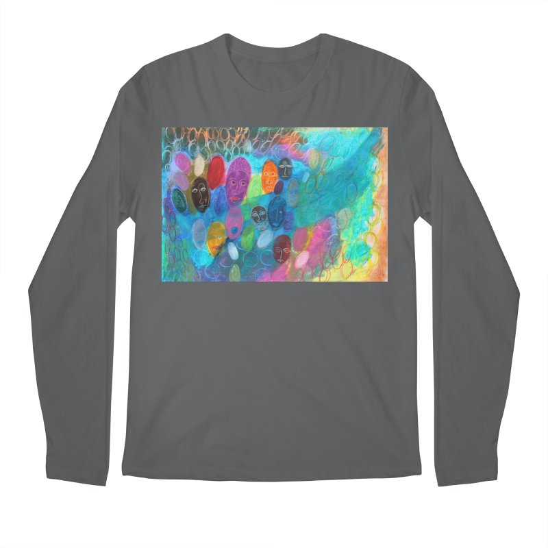 Made in God's Image Men's Longsleeve T-Shirt by Art by Roger Hutchison
