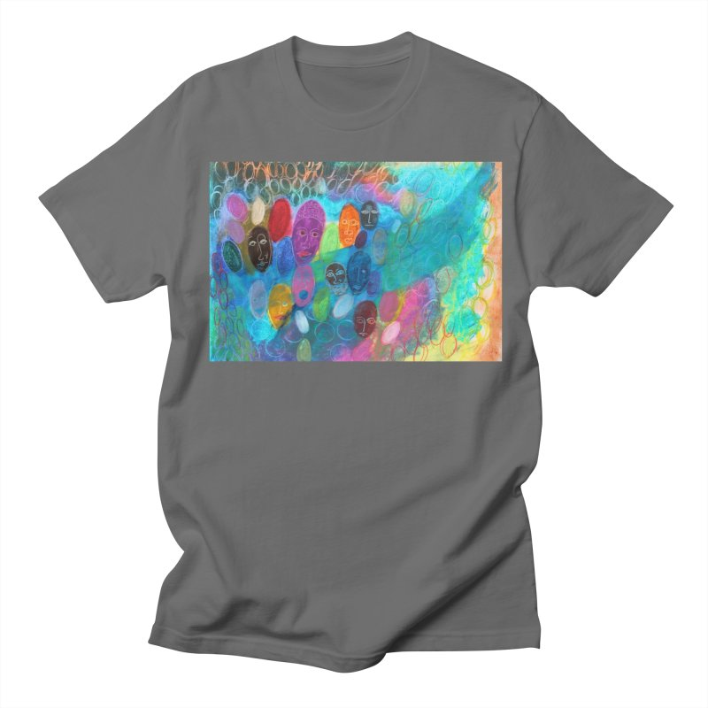 Made in God's Image Men's T-Shirt by Art by Roger Hutchison