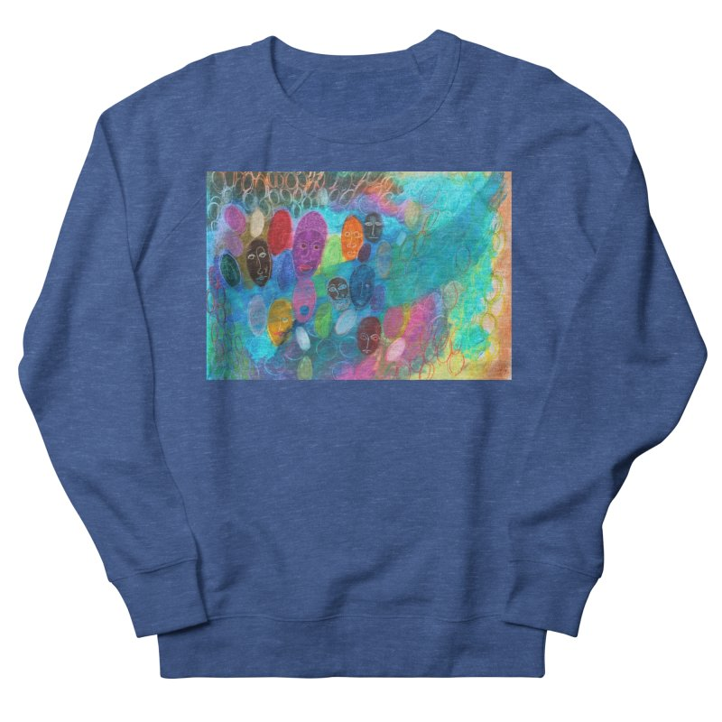 Made in God's Image Men's Sweatshirt by Art by Roger Hutchison