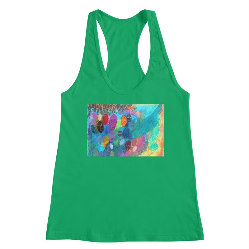 Made in God's Image Women's Tank by Art by Roger Hutchison