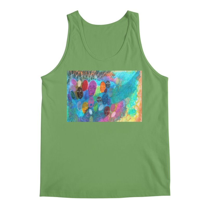 Made in God's Image Men's Tank by Art by Roger Hutchison