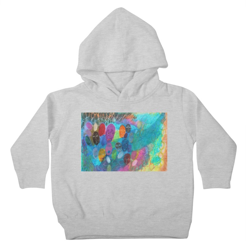 Made in God's Image Kids Toddler Pullover Hoody by Art by Roger Hutchison