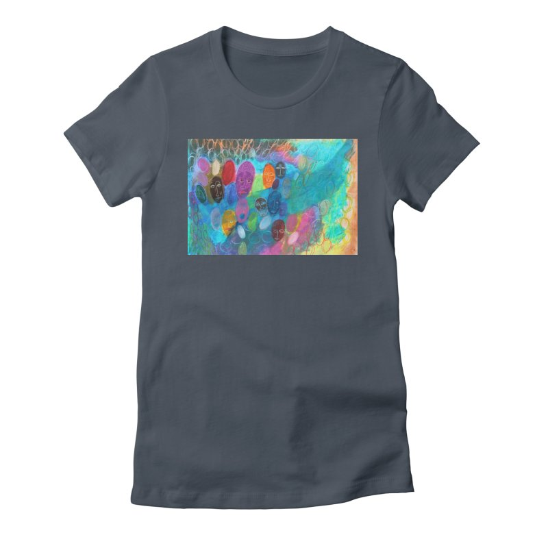 Made in God's Image Women's T-Shirt by Art by Roger Hutchison