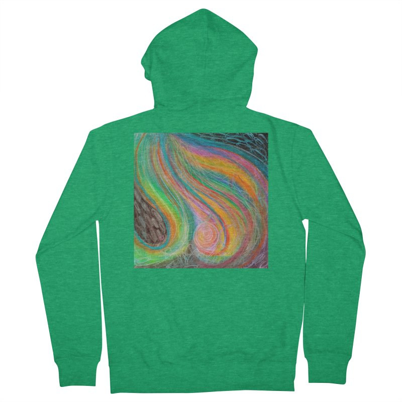 Pour Men's Zip-Up Hoody by Art by Roger Hutchison