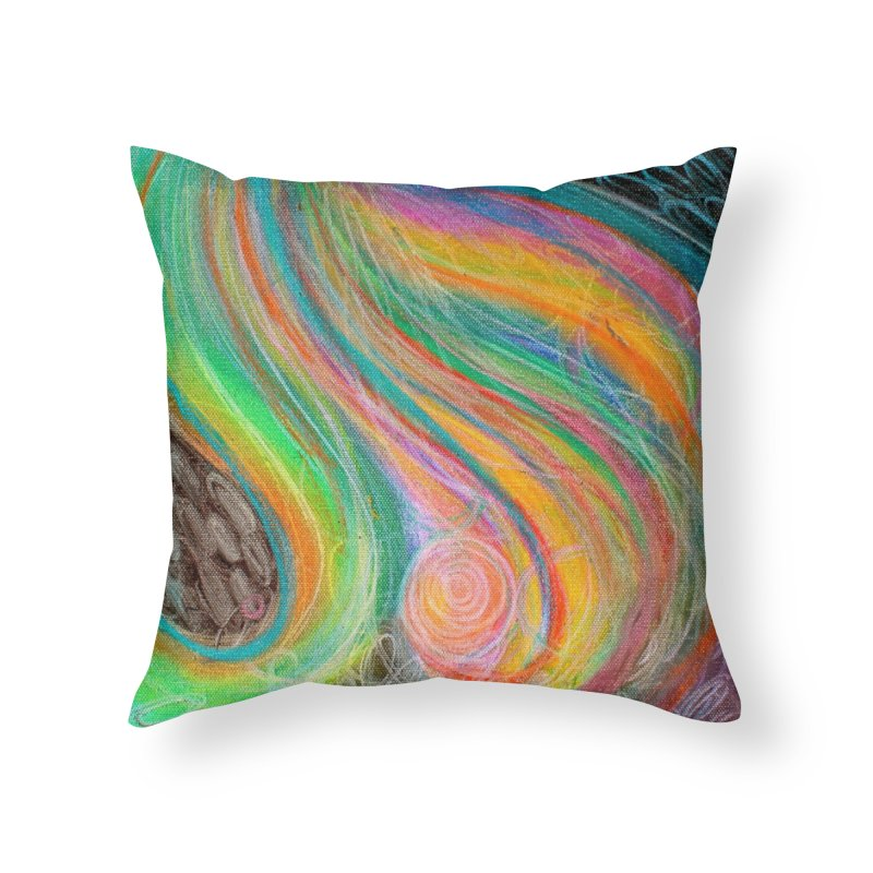 Pour Home Throw Pillow by Art by Roger Hutchison