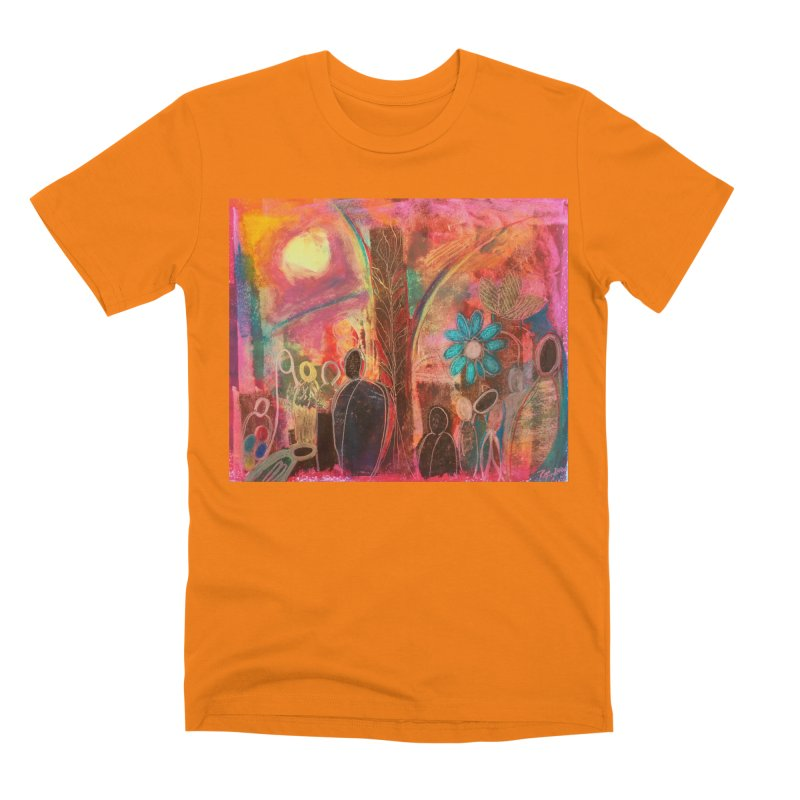 A Beautiful World Men's T-Shirt by Art by Roger Hutchison