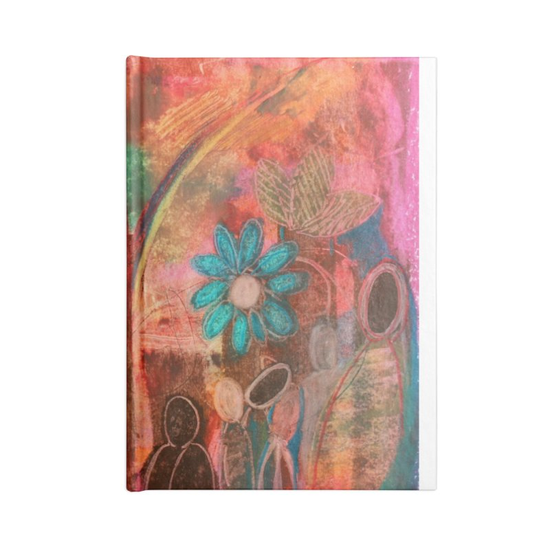 A Beautiful World Accessories Notebook by Art by Roger Hutchison
