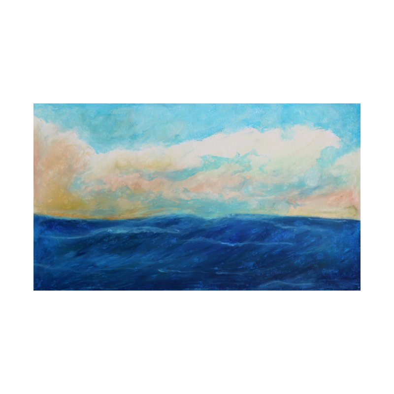 Thinking About The Sea Home Fine Art Print by Art by Roger Hutchison