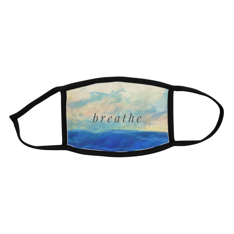 Breathe Accessories Face Mask by Art by Roger Hutchison
