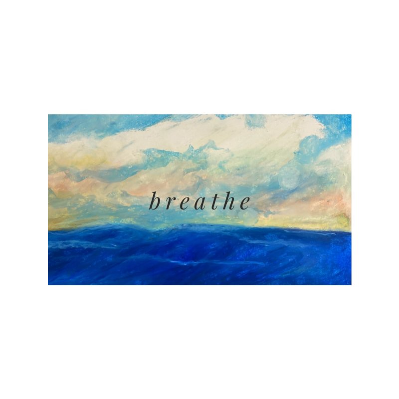 Breathe Accessories Mug by Art by Roger Hutchison