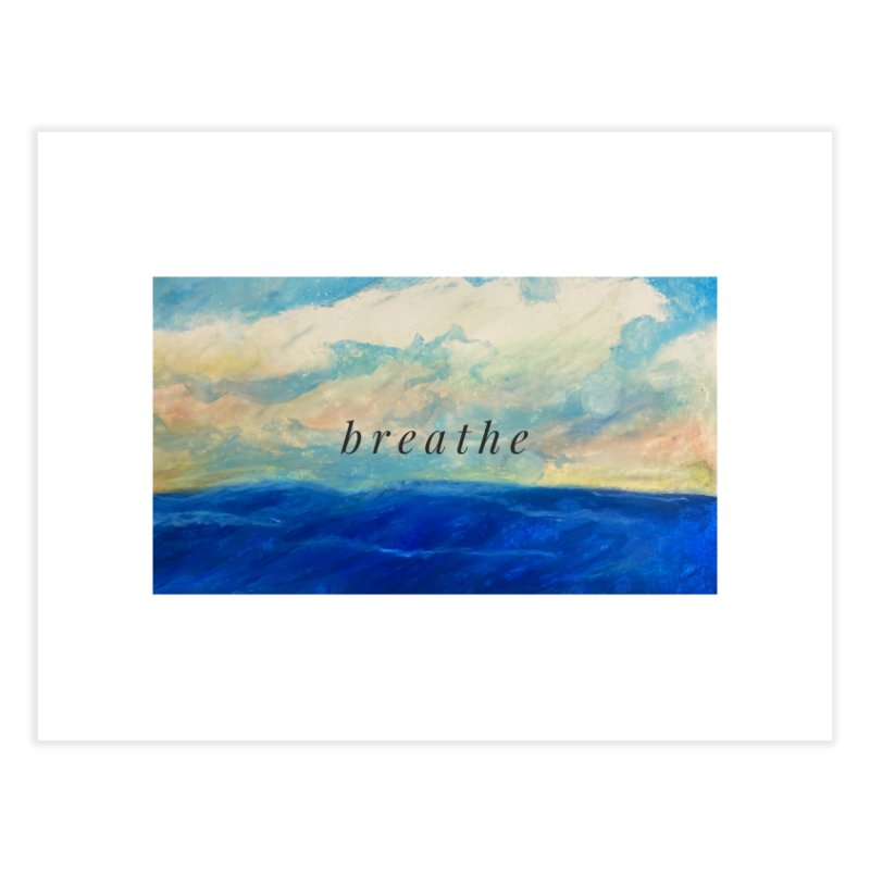 Breathe Home Fine Art Print by Art by Roger Hutchison