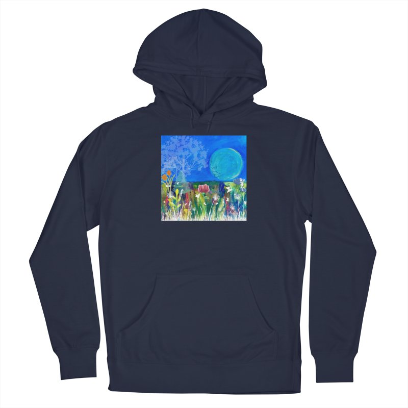 Beneath the Moon Men's Pullover Hoody by Art by Roger Hutchison