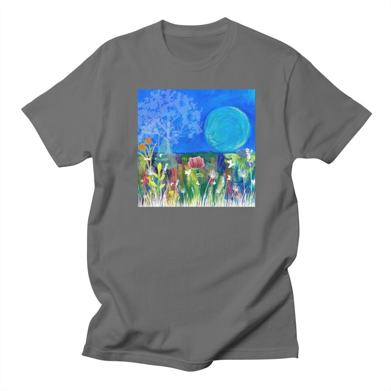 Beneath the Moon Men's T-Shirt by Art by Roger Hutchison