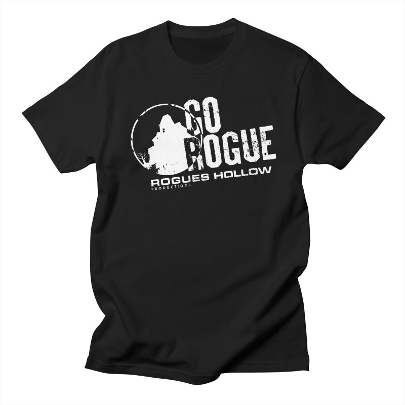 Go Rogue - Rogues Hollow Productions Men's T-Shirt by Rogues Hollow's Artist Shop