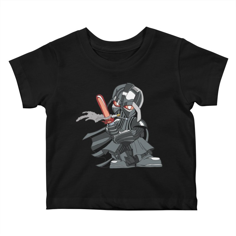 Daddy needs a smoke Kids Baby T-Shirt by RojoSalgado's Artist Shop
