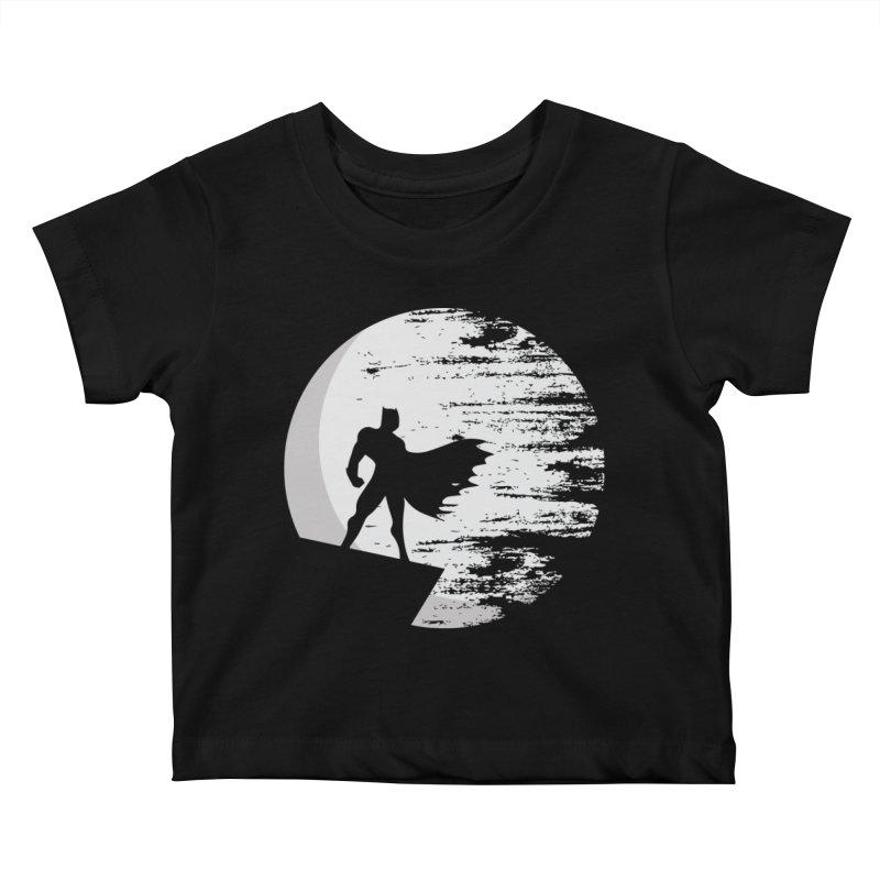 Vigilante Kids Baby T-Shirt by RojoSalgado's Artist Shop