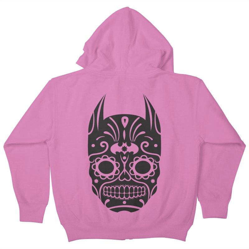 BatiKatrina Kids Zip-Up Hoody by RojoSalgado's Artist Shop