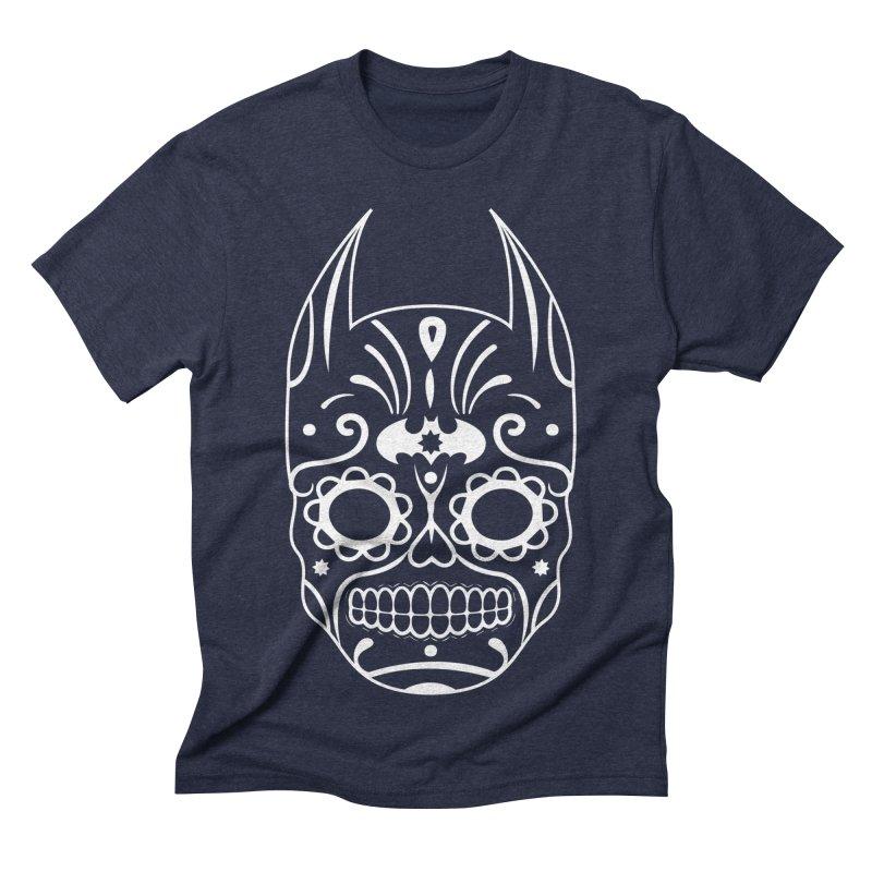 BatiKatrina White Men's Triblend T-shirt by RojoSalgado's Artist Shop