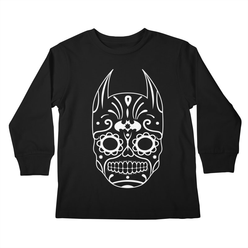 BatiKatrina White Kids Longsleeve T-Shirt by RojoSalgado's Artist Shop