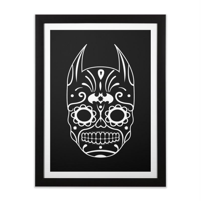 BatiKatrina White Home Framed Fine Art Print by RojoSalgado's Artist Shop