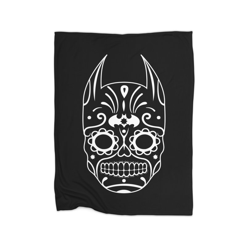 BatiKatrina White Home Blanket by RojoSalgado's Artist Shop