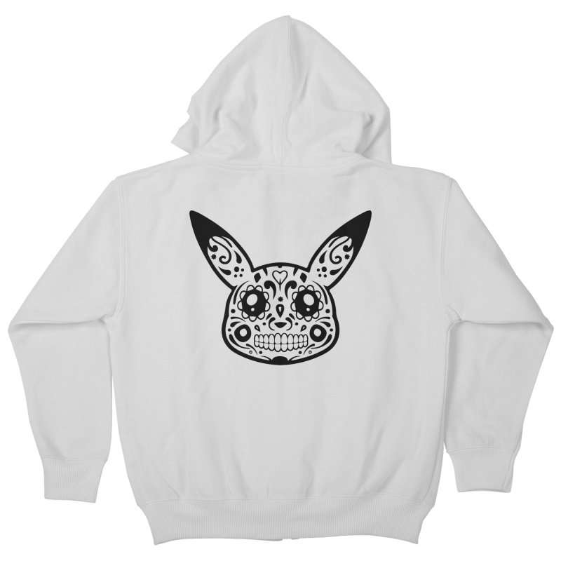 Pikatrina Kids Zip-Up Hoody by RojoSalgado's Artist Shop