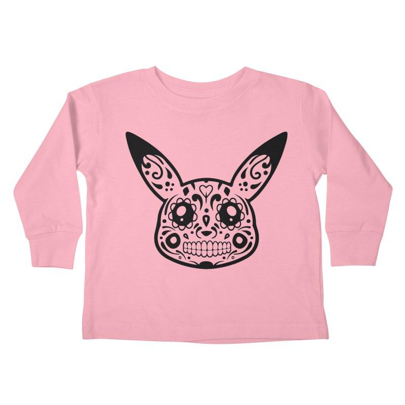 Pikatrina Kids Toddler Longsleeve T-Shirt by RojoSalgado's Artist Shop