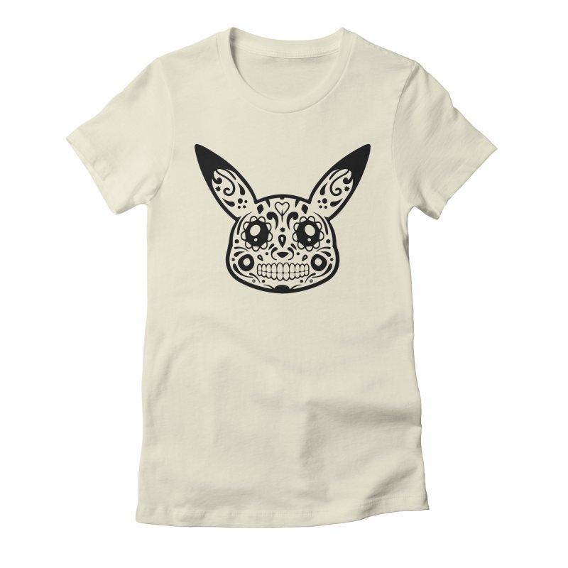 Pikatrina Women's Fitted T-Shirt by RojoSalgado's Artist Shop